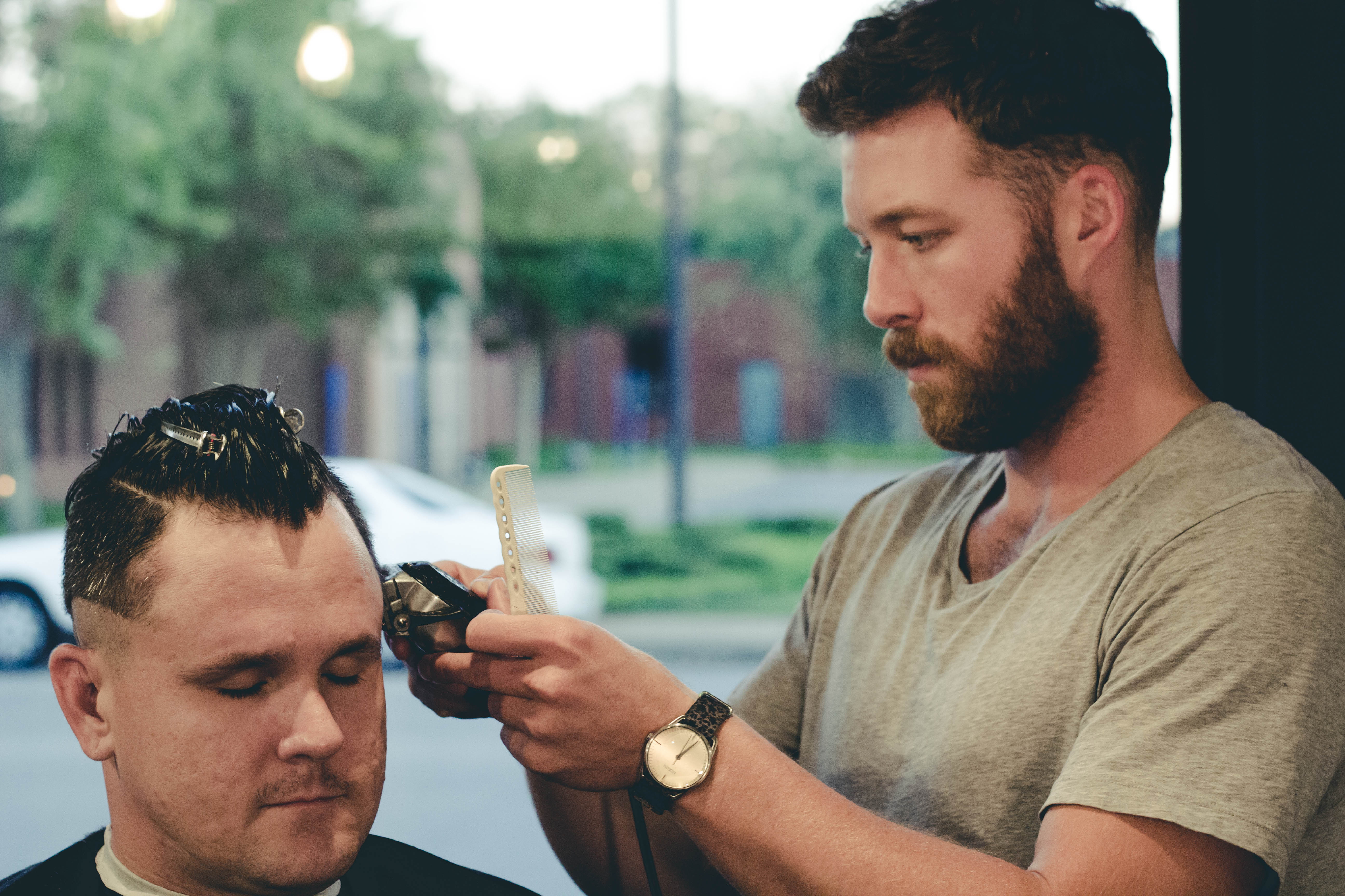 Spotlight Greasy Hands Barbershop The Shoals Alabama The Barber